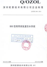 B50执行标准